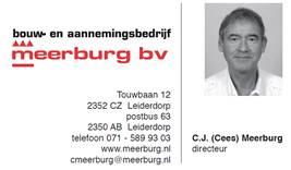 Contact Cees Meerburg
